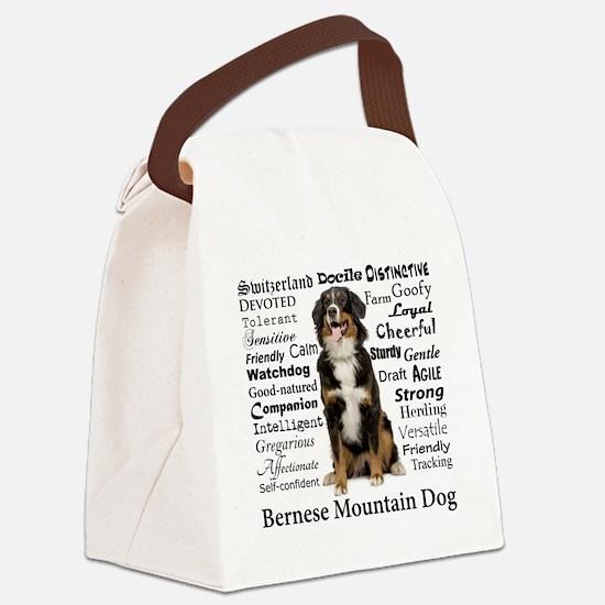 Berner Traits Canvas Lunch Bag