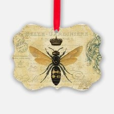 modern vintage French queen bee Ornament