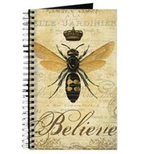 modern vintage French queen bee Journal