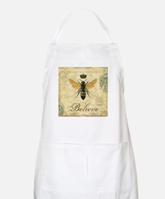 modern vintage French queen bee Apron