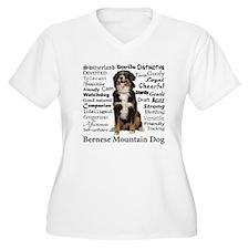 Berner Traits Plus Size T-Shirt