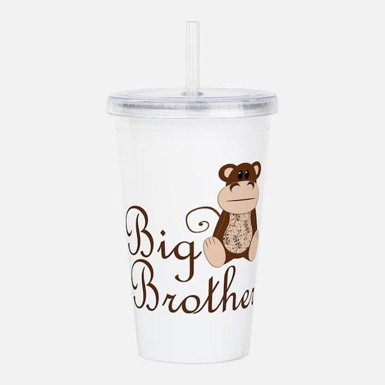 Big Brother Monkey.png Acrylic Double-wall Tumbler