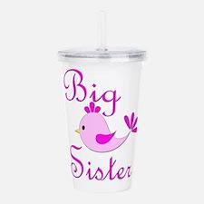Big Sister Bird.png Acrylic Double-wall Tumbler