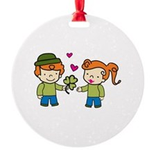 Irish Love Ornament