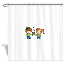 Irish Love Shower Curtain