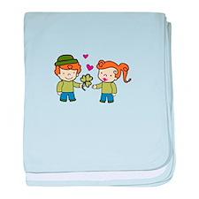 Irish Love baby blanket
