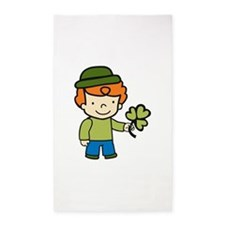 Shamrock Boy 3'x5' Area Rug