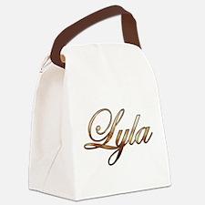 Lyla Canvas Lunch Bag
