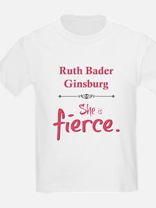 Ruth Bader Ginsburg is fierce T-Shirt