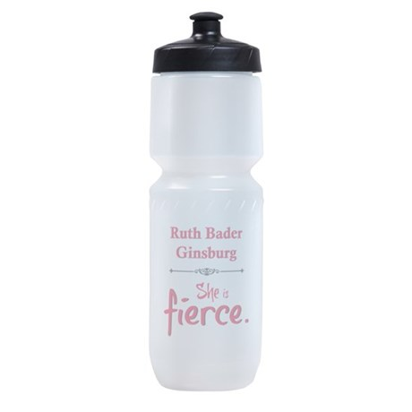 Ruth Bader Ginsburg is fierce Sports Bottle