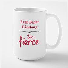 Ruth Bader Ginsburg is fierce Mugs