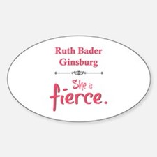 Ruth Bader Ginsburg is fierce Decal