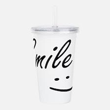 Smile.png Acrylic Double-wall Tumbler
