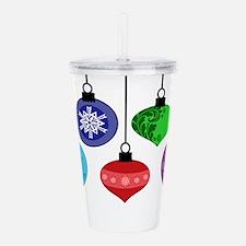 Christmas Ornaments Acrylic Double-wall Tumbler