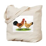 Buff Catalana Chickens2 Tote Bag
