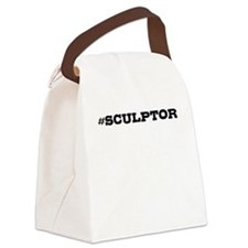 Sculptor Hashtag Canvas Lunch Bag