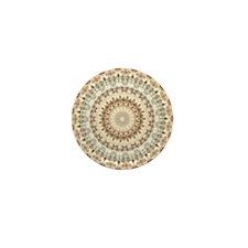 Unique Ethnic elegance Mini Button