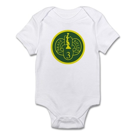 3rd Armored Cavalry Infant Bodysuit