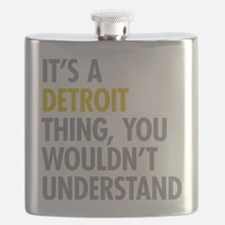 Its A Detroit Thing Flask