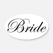 product name Oval Car Magnet