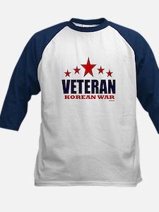 Veteran Korean War Kids Baseball Jersey