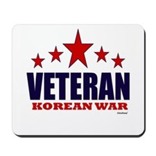 Veteran Korean War Mousepad