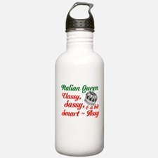 Italian Queen Water Bottle