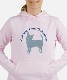 Real Men Love Chihuahuas 111 Women's Hooded Sweats