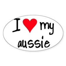 iheartaustralianshepherd Decal