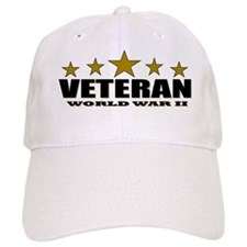 Veteran World War II Baseball Cap