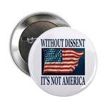 Without Dissent Button (10 pk)
