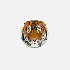 Cute Tiger face Mini Button (10 pack)