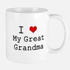 Cute Great grandmothers day Mug