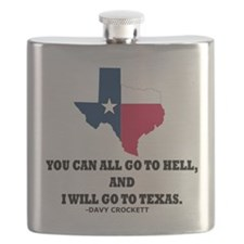 DAVY CROCKETT Flask