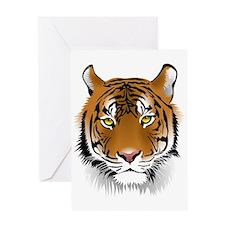 Wonderful Tiger Greeting Cards