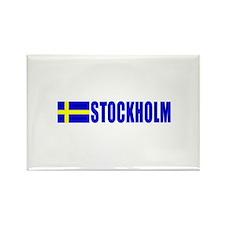 Stockholm, Sweden Rectangle Magnet