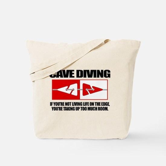 Cave Diving (LOTE) Tote Bag