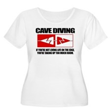 Cave Diving (LOTE) Plus Size T-Shirt