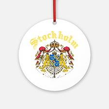 Stockholm, Sweden Ornament (Round)
