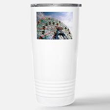 Wonder Wheel On A Sunny Travel Mug
