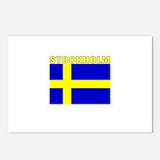 Stockholm, Sweden Postcards (Package of 8)