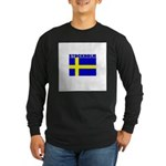 Stockholm, Sweden Long Sleeve Dark T-Shirt