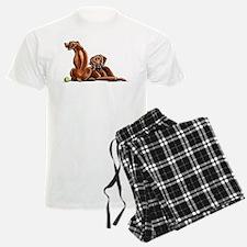 2 Ridgebacks Pajamas