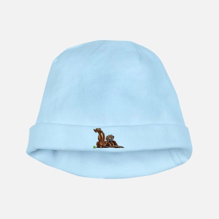 2 Ridgebacks baby hat