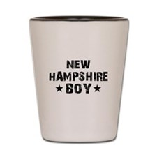 New Hampshire Boy Shot Glass