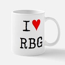 i love rbg Mug