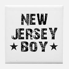 New Jersey Boy Tile Coaster
