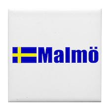 Malmo, Sweden Tile Coaster