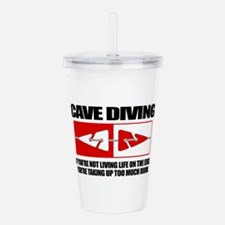 Cave Diving (LOTE) Acrylic Double-wall Tumbler