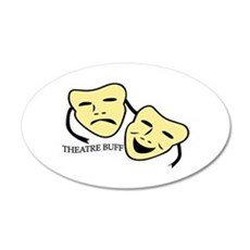 Theatre Buff Wall Decal
